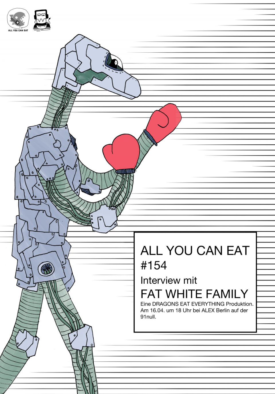 Poster für AYCE #154